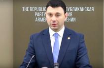 Հանրապետականն ու Դաշնակցությունը կոալիցիոն պայմանագիր կկնքեն 2017-2022 թվականների համար