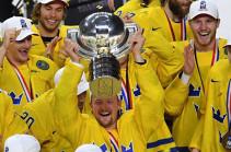 Швеции завоевала титул чемпиона мира по хоккею