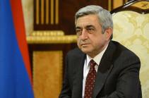 Սերժ Սարգսյանը հանդիպում է ունեցել ՀՀ ԶՈՒ ղեկավար կազմի հետ