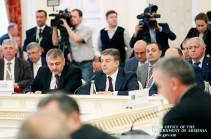 Վարչապետը մասնակցել է ԱՊՀ կառավարությունների ղեկավարների խորհրդի նիստին