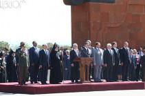 Президент Серж Саргсян: Мы, граждане нынешней Армении, верны заветам Первой Республики
