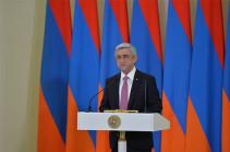 В резиденции президента Армении состоялась церемония вручения государственных наград и званий
