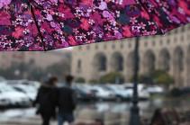 В Армении в ближайшие дни ожидаются дожди