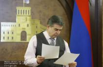 Заместитель министра-главы аппарата правительства Армении освобождена с должности
