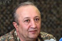 Начальник ГШ ВС Армении: Границы Арцаха полностью оснащены системами видеоконтроля