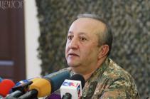 Начальник управления ракетных войск и артиллерии ГШ ВС Армении освобожден в связи с выходом на пенсию