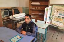 «Դասարանում միայնակ լինելը սխալ ա». Չինչինի միակ 9-րդ դասարանցին. Լուսանկարներ