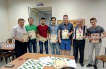 Երևանում անցկացվել է Արմեն Մարությանի հիշատակին նվիրված ռուսական շաշկու միջազգային 1-ին հուշամրցաշարը