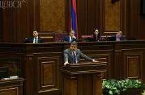 Այսօր հավեսով կխոսեմ. Կարեն Կարապետյանի եզրափակիչ ելույթն ԱԺ-ում