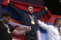 Чемпионом мира по тяжелой атлетике стал Симон Мартиросян
