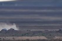 Հայկական զինված ուժերի պատասխան գործողությամբ վերացվել է հակառակորդի կրակակետը (Տեսանյութ)