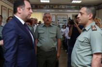 Назначен новый начальник Центрального военного клинического госпиталя Еревана