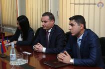 ՀՀ ՊՆ վարչական համալիրում քննարկվել են Հայաստան-ԵՄ հարաբերություններին առնչվող հարցեր
