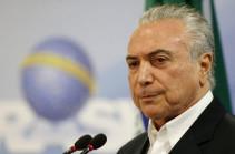 Генпрокурор Бразилии выдвинул обвинения в коррупции против президента