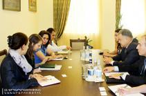 Արդարադատության նախարարը ՎԶԵԲ-ի ներկայացուցչի հետ քննարկել է գործարարների շահերի պաշտպանի ինստիտուտ ներդնելու հարցը
