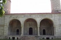 В Шуши восстанавливается Верхняя мечеть Гоар Ага