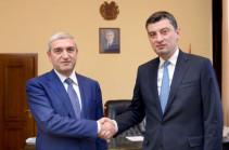 Քննարկվել են տրանսպորտի և հեռահաղորդակցության ոլորտում հայ-վրացական երկկողմ համագործակցությանն առնչվող հարցեր
