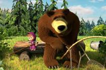 На Украине хотят запретить мультфильм «Маша и медведь»  из-за «российской пропаганды»