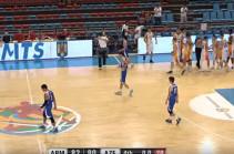 Բասկետբոլի Հայաստանի երիտասարդական հավաքականը հաղթել է Ադրբեջանին