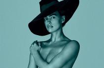 Ирина Шейк полностью обнажилась для съемки испанского Vogue