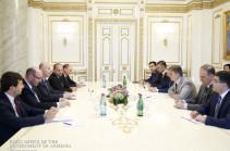 Премьер Армении и министр регионального сотрудничества Израиля обсудили перспективы экономических отношений