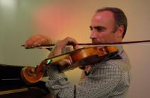 Ես իմ լավագույն ստեղծագործությունները հայրենիքում եմ գրել. ջութակահար Սամվել Երվինյանը Հայաստանում է