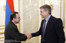 Карен Карапетян подчеркнул важность развития сотрудничества с Ливаном в различных отраслях экономики