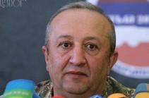 Начальник ГШ ВС Армении: Нарушение системы безопасности на любой территории Арцаха - угроза всей республике
