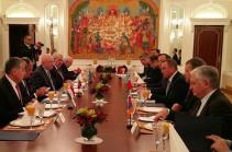 Эдвард Налбандян участвовал в Нью-Йорке во встрече глав МИД стран-членов ОДКБ