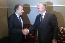 Главы МИД Армении и Ливана обсудили в Нью-Йорке подготовку к заседанию межправительственной комиссии