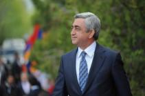 Նախագահ Սերժ Սարգսյանը շնորհավորական ուղերձներ է ստանում Անկախության տոնի առթիվ