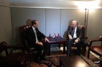 Հայաստանի ու Վրաստանի ԱԳ նախարարները հանդիպել են Նյու Յորքում