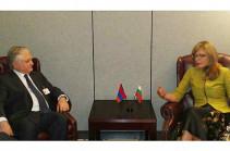 Նալբանդյանը Բուլղարիայի իր գործընկերոջ հետ քննարկել է միջպետական հարաբերություններին ուղղված հարցեր