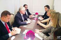 Հայաստանի արտգործնախարարը հանդիպել է ԱՄՆ պետքարտուղարի տեղակալին