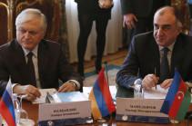 Налбандян и Мамедъяров обсудят возможность встречи президентов Армении и Азербайджана