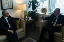 Էդվարդ Նալբանդյանն ու ՄԱԿ-ի գլխավոր քարտուղարի քաղաքական հարցերով տեղակալը քննարկել են ԼՂ կարգավորումը