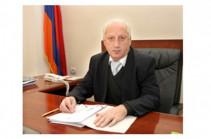 ՀՀ վարչական վերաքննիչ դատարանի դատավորի լիազորությունները դադարեցվել են