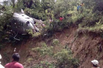 В Мексике разбился вертолет с гумпомощью для пострадавших от землетрясения