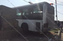 Երևանում թիվ 37 համարի ավտոբուսը հայտնվել է բնակելի տան տարածքում