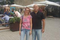 Արմեն Աշոտյանի ու Մանե Թանդիլյանի նոր լուսանկարները՝ Բաքվից