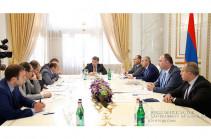 В правительстве состоялось заседание попечительского совета Фонда «Цифровая Армения»