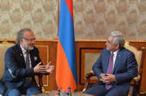 Президент Армении принял депутата парламента Франции Оливье Дассо