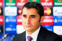 Вальверде: «Барселона» будет готова к меню, которое предложит «Атлетико»