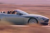 Aston Martin представила кабриолет DB11 Volante (Видео)