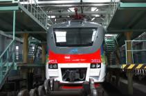 ՌԴ-ից Հայաստան է բերվել ամբողջովին նոր, բարձրակարգ և ժամանակակից էլեկտրագնացք (Տեսանյութ)