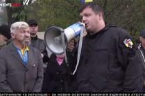Գերագույն Ռադայի մոտ ակտիվիստները քննարկել են այսօրվա օրակարգը (Տեսանյութ)