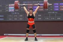 Ծանրորդ Դավիթ Հովհաննիսյանը դարձավ Եվրոպայի առաջնության փոխչեմպիոն