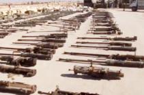 В Сирии показали захваченные у ИГ советские танки и американские пушки (Видео)
