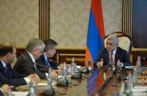 Серж Саргсян: Саммит Франкофонии станет самым крупным мероприятием после независимости Армении