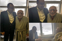 Ռուսաստանում Հայաստանի դեսպանն այցելել է Արմեն Ջիգարխանյանին
